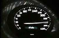 Bugatti Veyron: 365 km/h sur route ouverte. Mais que fait le Sun ?