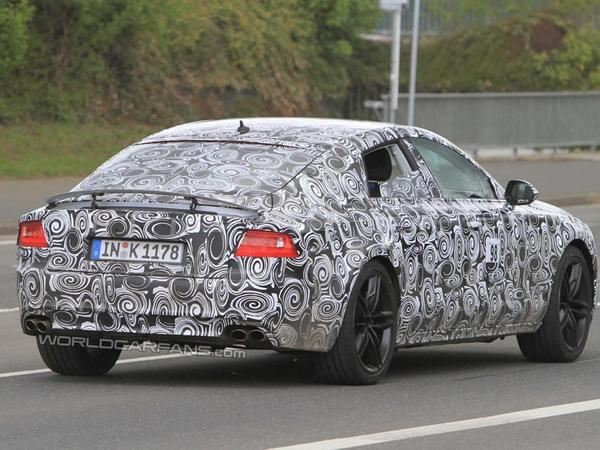 Spyshot : Audi S7