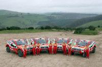 Dakar 2008: un Mitsubishi diesel au départ?