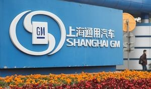 Chine : General Motors devra payer une amende de 29 millions de dollars