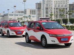 40 BYD E6 électriques font office de taxis en Chine