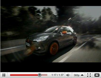 Genève 2010 : Citroën DS3 Racing en vidéo