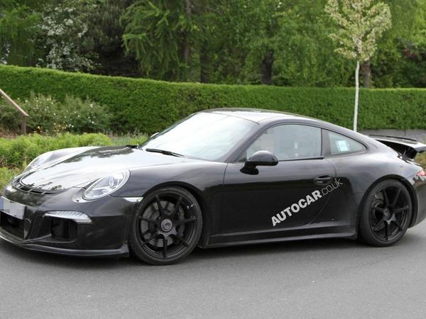La nouvelle Porsche 911 GT3 surprise en Allemagne