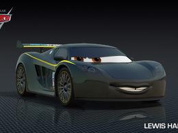 Cars 2 : avec une Jaguar Type E et...Lewis Hamilton !