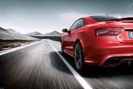 Genève 2010 : la brochure Audi RS5 plus rapide que la com'