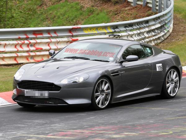 Spyshot : une Aston Martin étrange sur le Nürburgring