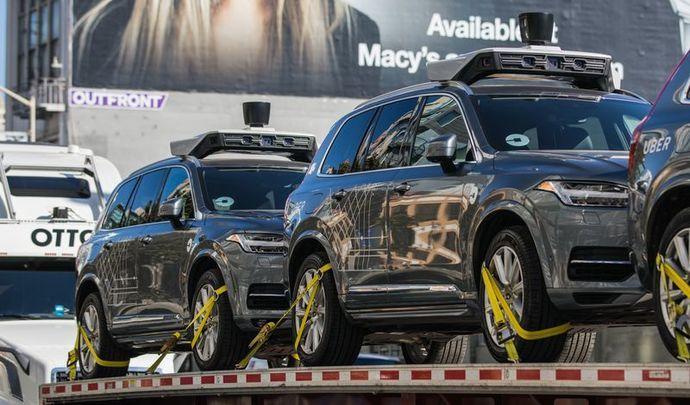 Les voitures autonomes d'Uber interdites à San Francisco