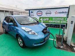 Nissan installe la première borne de recharge rapide en Europe à Haguenau