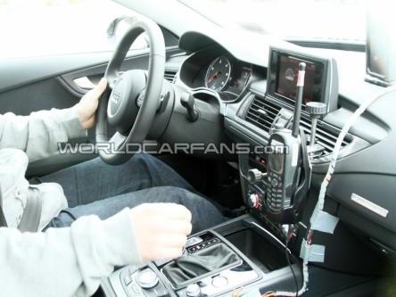 Spyshot : et maintenant, l'intérieur de l'Audi S7