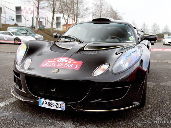 Photos du jour : Lotus Exige Type 72 (Rallye de Paris)