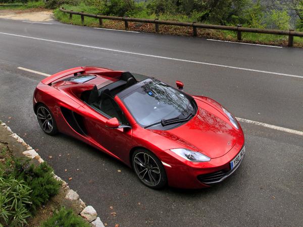 McLaren dit non au SUV, pour l'instant