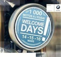 BMW Motorrad: « Welcome Days » du 14 au 16 mars 2014
