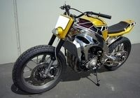 Yamaha YZF R1 «Street Tracker» by Gregg's Customs : Light is right...
