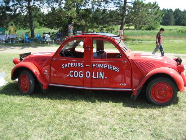Réponse à la question du jour n° 133 : dans les années 60, une voiture fit perdre la tête aux pompiers du Var. Pourquoi ?