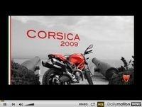 Vidéo du jour : La Corse en Monster 696. Magique !!