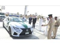 Une Lexus RC F rejoint les rangs de la police de Dubaï