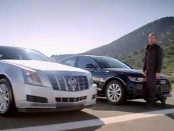 Cadillac : une publicité contre l'Audi A6