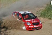 Rallye ERC Pologne: abandon pour Simon Jean-Joseph.
