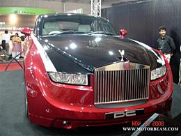 Exoticars DC Design : quand une Ambierod copule avec une Rolls Royce Coupé, voilà le bébé