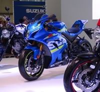 En direct du Salon de Milan 2015 : Suzuki GSX-R1000