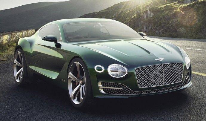 Bentley : un modèle à un million d'euros dans les cartons