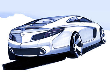 Nouvelle Opel Calibra pour 2013. Peut-être