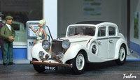 Miniature : 1/43ème - JAGUAR SS 2.5 Saloon