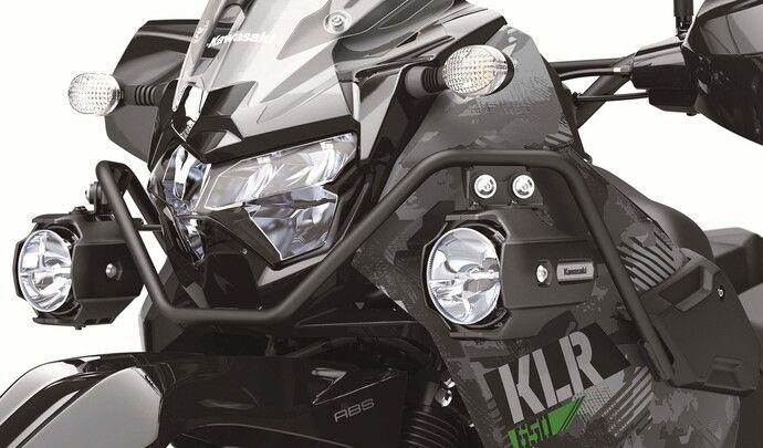 Kawasaki relance la mythique KLR650
