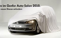 Nouveau Volkswagen Sharan en teasing avant le Salon de Genève
