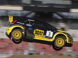 Marcus Grönholm remporte la première manche du Global RallyCross US