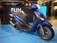 En direct du Salon de Milan 2015 : Piaggio Medley 125, le scooter grandes roues