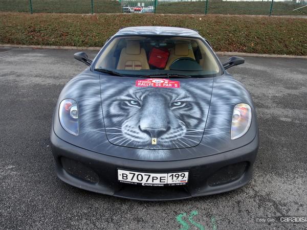 Photos du jour : Ferrari 430 Novitec Rosso (Rallye de Paris)