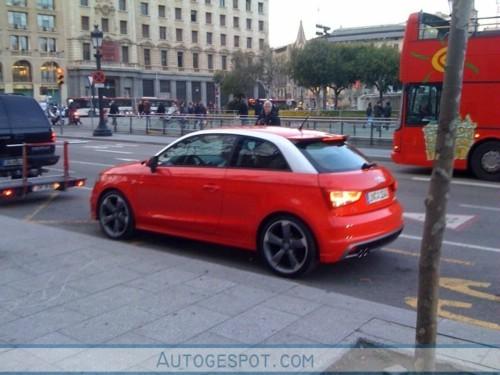 Audi A1 : déjà dans la rue