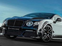 Bentley Continental GTX Onyx Concept, méchante et puissante