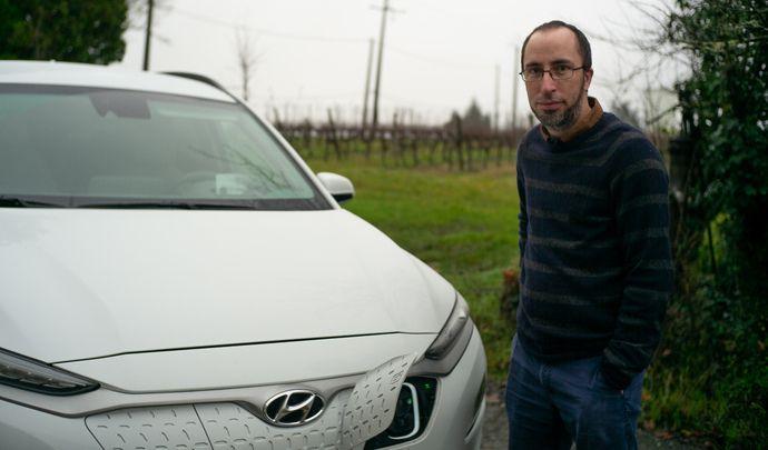 L'auto des voisins - entre Gironde et Périgord, Pierre vient d'acheter son troisième Hyundai Kona EV