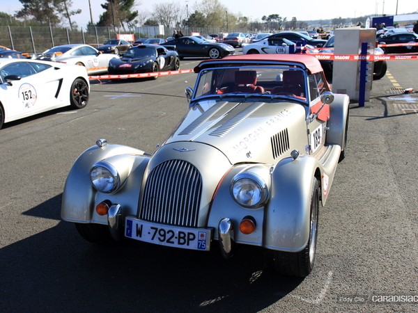 Photos du jour : Morgan Roadster (Rallye de Paris)
