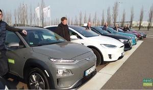 Voitures électriques : les autonomies à 130 et 150km/h