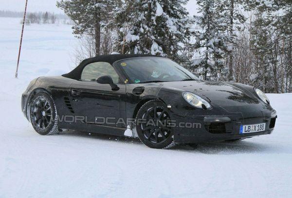 Spyshot : futur Porsche Boxster