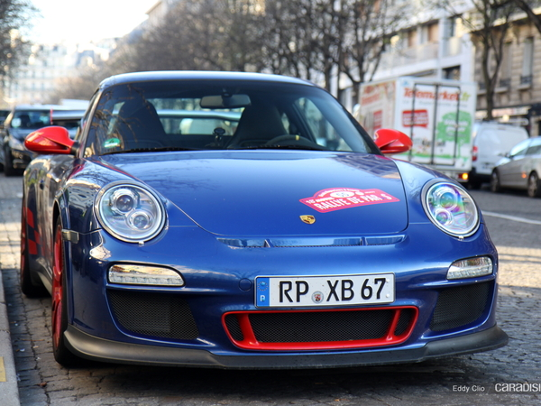 Photos du jour : Porsche 911 997 GT3 RS Ph.2 (Rallye de Paris)