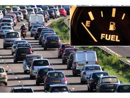 Insolite : la réserve s'allume, la conductrice arrête son Audi Q7 en pleine voie d'autoroute