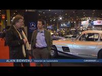 Vidéo en direct  du Rétromobile 2015 - Une Mercedes 300 SL exceptionnelle...