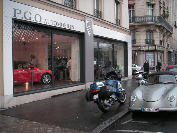 PGO inaugure son showroom sur Paris