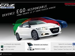 Concours / Honda CR-Z hybride : l'egoresponsabilité en vidéo!