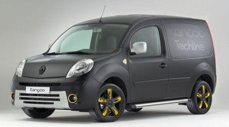renault kangoo express tech line tuning officiel d 39 utilitaire. Black Bedroom Furniture Sets. Home Design Ideas