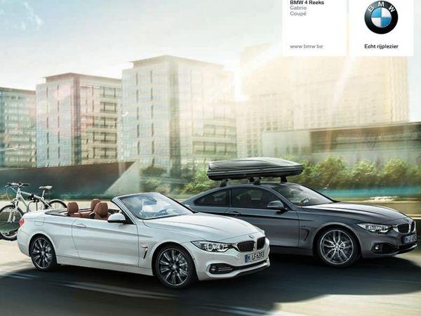 Voici les premières photos de la BMW Série 4 cabriolet