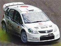 WRC: la Suzuki SX4 WRC en test