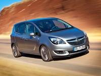 Voici le restyling de l'Opel Meriva