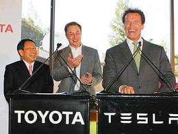 Tesla et Toyota se connectent dans l'électrique
