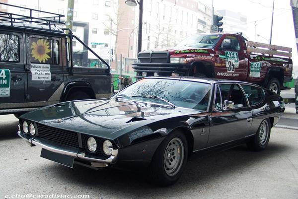 Photos du jour : Lamborghini Espada