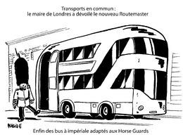 Le dessin du jour – Aménagement favorable du futur bus à impériale
